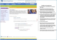 Copy, page lay-out for enewsletter sign-up