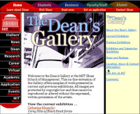 """The Dean's Gallery"" - writing"