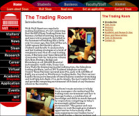 """The Trading Room"" - writing"
