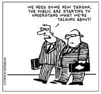 Beware jargon