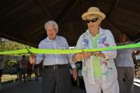 Kenneth Albury, Sylvia Murphy dedicate Albury Pavilion